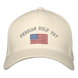 Golf-Tierarzt mit amerikanischer Flagge Bestickte Mützen