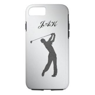 Golf-Typ-kundengerechtes Monogramm iPhone 7 Hülle
