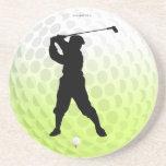 Golf-Untersetzer Getränkeuntersetzer