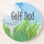 Golf VATI Entwurf Getränkeuntersetzer