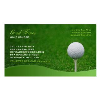 Golf-Visitenkarte Visitenkarten