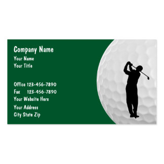 Golf-Visitenkarten