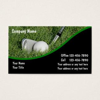 Golf-Visitenkarten Visitenkarten