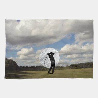 Golf-Welt Geschirrtuch