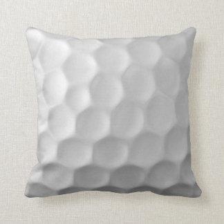 Golfball bildet Beschaffenheits-Muster Grübchen Kissen
