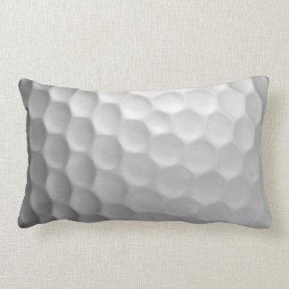 Golfball bildet Beschaffenheits-Muster Grübchen Lendenkissen
