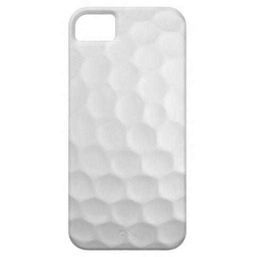 Golfball bildet Muster Grübchen iPhone 5 Cover