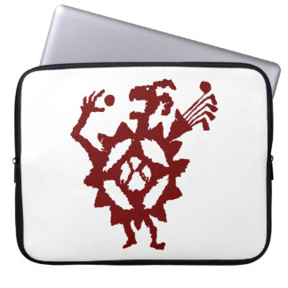 Golfball-Esser-Petroglyphe Laptop Sleeve