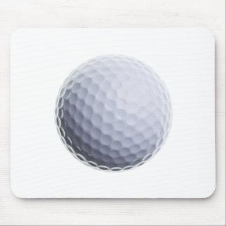 Golfball-Hintergrund kundengebundene Schablone Mauspad