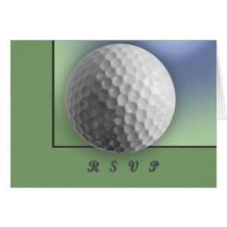 Golfball Karte