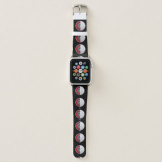 Golfball-Kern-Entwurf Apple passen ledernes Band, Apple Watch Armband