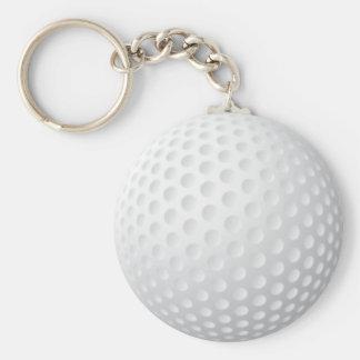 Golfball Keychain Standard Runder Schlüsselanhänger