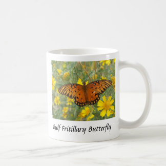 Golffritillary-Schmetterling Kaffeetasse