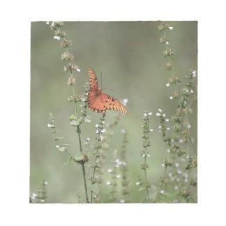 Golffritillary-Schmetterling Notizblock