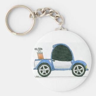 Golfmobil Keychain Schlüsselanhänger