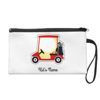 Golfmobil Wristlet Handtasche