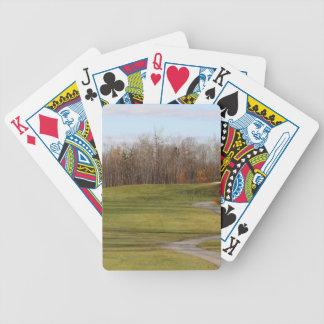Golfplatz Bicycle Spielkarten