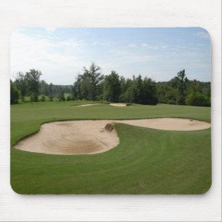 Golfplatz-Sandfang Mousepad