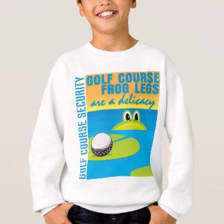 Golfplatz-Sicherheits-Froschschenkel sind eine Sweatshirt