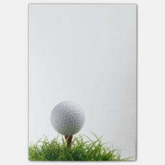 Golfpost-itanmerkung Post-it Klebezettel