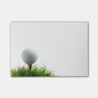 Golfpost-itanmerkungen Post-it Klebezettel