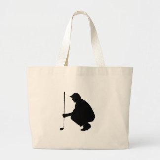 Golfspieler 01 einkaufstasche