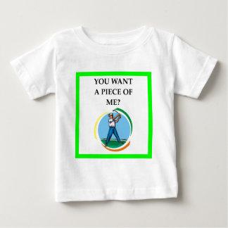 Golfspieler Baby T-shirt