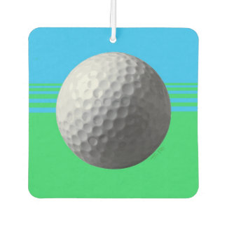 Golfspieler innerhalb des Auto-Lufterfrischers Autolufterfrischer