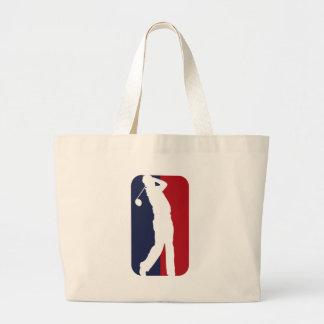 Golfspieler Liga Einkaufstasche
