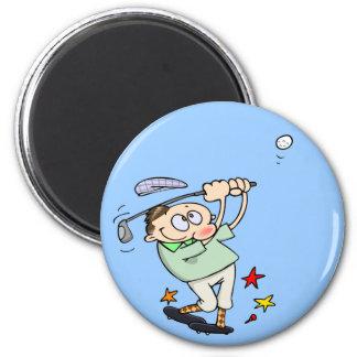 Golfspieler-Magnet Kühlschrankmagnete