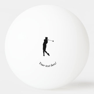 Golfspieler Ping-Pong Ball