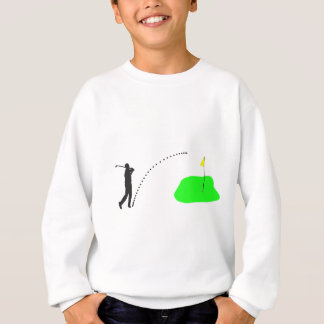 Golfspieler Sweatshirt