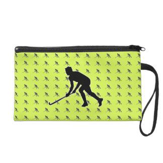 Golfspieler Wristlet Handtasche