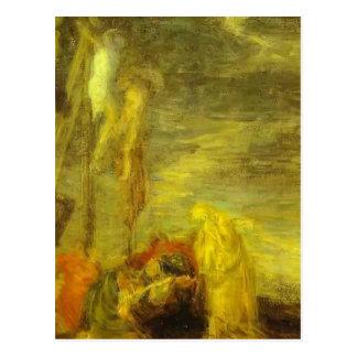 Golgotha (Kopie nach Veronese) durch Henri Latour Postkarte