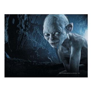 Gollum in der Höhle Postkarte