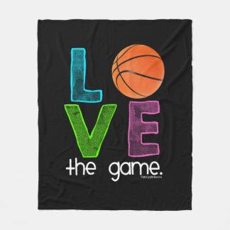 Golly Mädchen: Basketball - Liebe das Spiel Fleecedecke