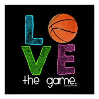 Golly Mädchen: Basketball - Liebe das Spiel Perfektes Poster