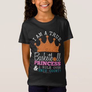 Golly Mädchen: Basketball-Prinzessin Rule This T-Shirt