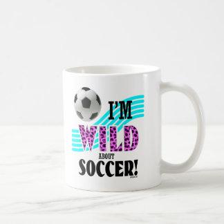 Golly Mädchen: Ich bin über FUSSBALL WILD Tasse