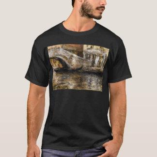 Gondeln entlang venezianischem Kanal (alias Gondel T-Shirt