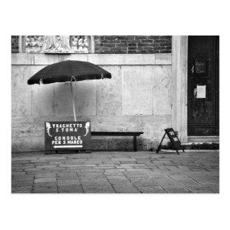 Gondoliere-Stand-Postkarte