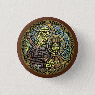 Gönner verlorenen Einzelteil-Heiliger Runder Button 3,2 Cm