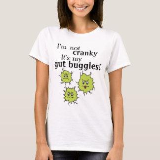 Goofy cranky Darm-Buggybakterien hört Magent-stück T-Shirt