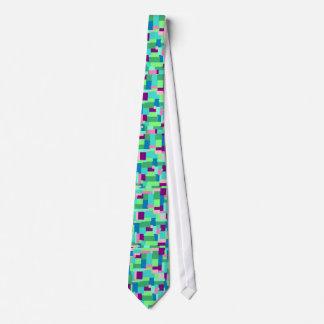 Googie geometrische abstrakte Entwurf ~Summer Individuelle Krawatte