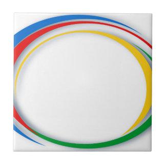 Google-Farben Keramikfliese