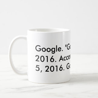 Google-Zitat (Chicago) Kaffeetasse