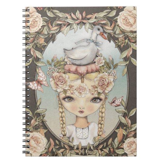 Goose Lizzy Notebook Notizblock