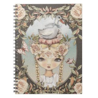 Goose Lizzy Notebook Spiralblöcke
