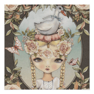 Goose Lizzy Perfektes Poster