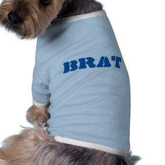 GÖR lustiger blauer Schablonen-Aufkleber Hund T Shirt